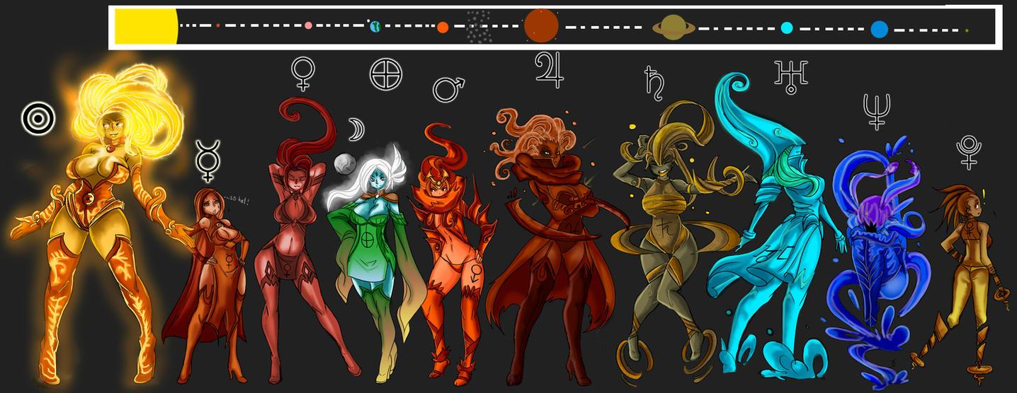 Solar System by Oddmachine