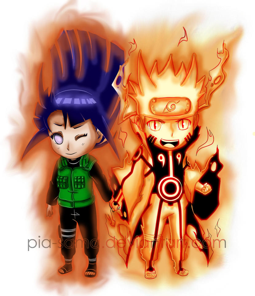 Naruto And Hinata: Power Of Love By Oddmachine On DeviantArt
