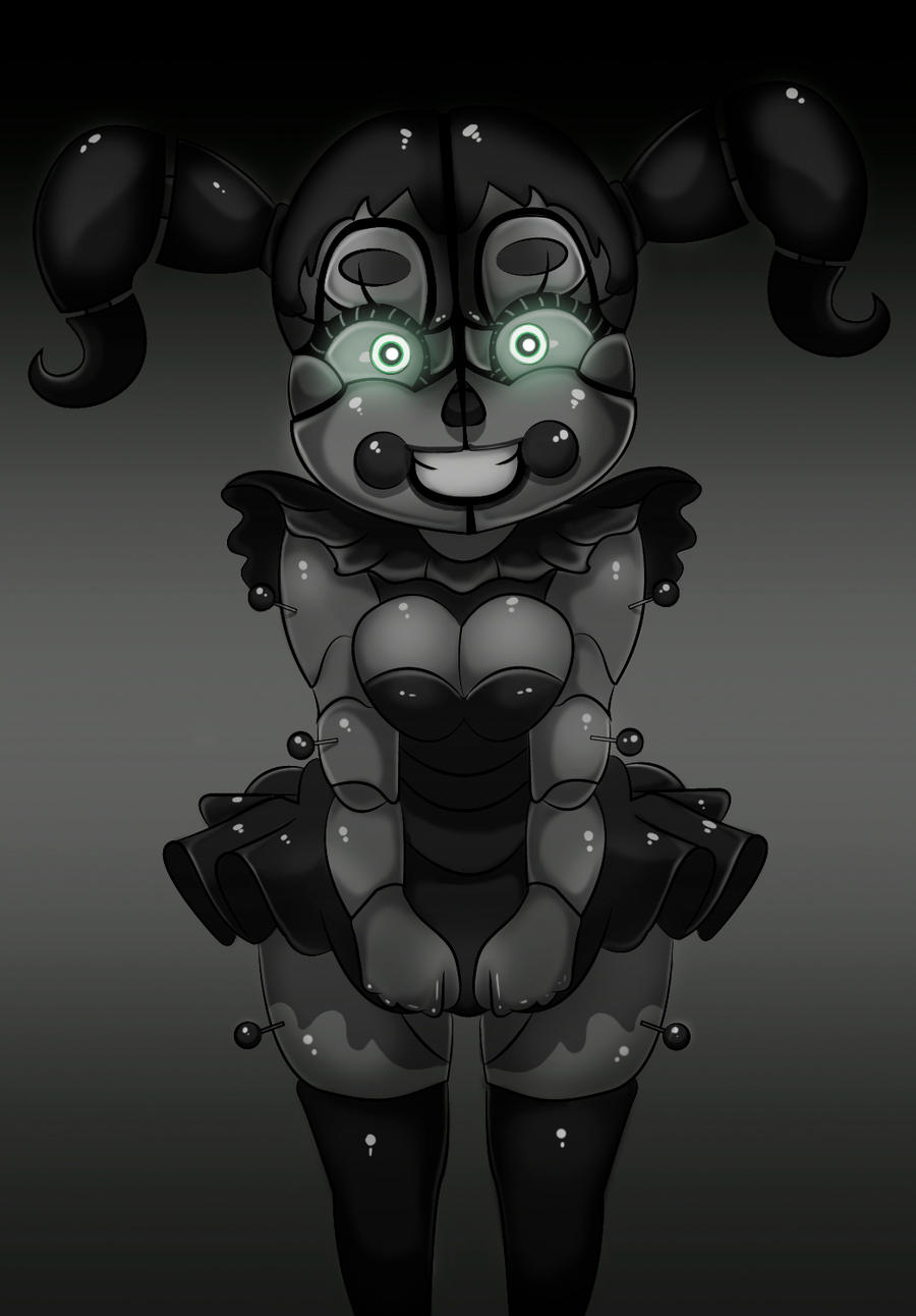 Fnaf Tits fnaf sister location: babyoddmachine on deviantart