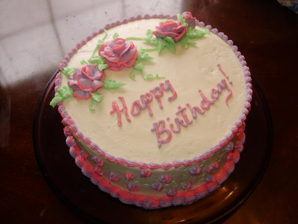 Images Of Birthday Cake And Roses : Rose Birthday Cake by HeatherBear555 on DeviantArt