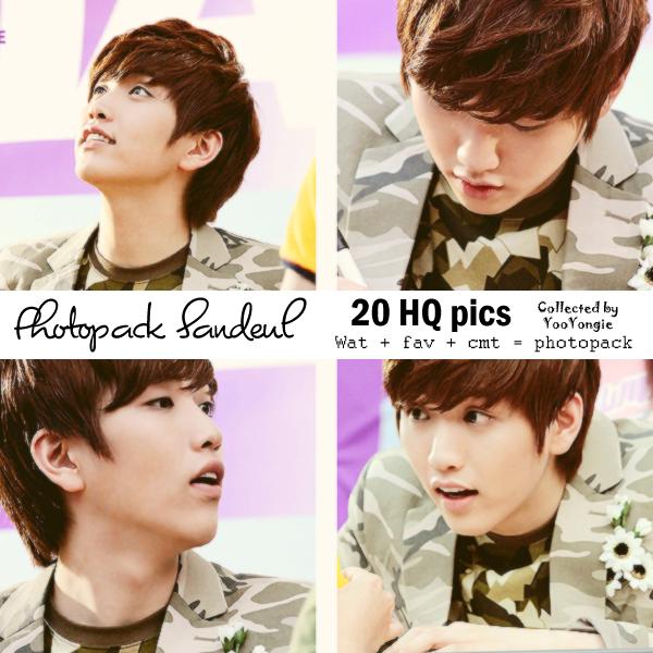 [Photopack] Sandeul #1 by YooYongie
