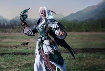 Night elf Druid cosplay by Takeshiextravaganza