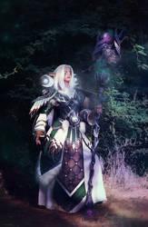 Night elf Druid by Takeshiextravaganza