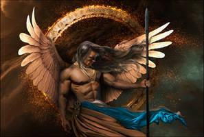 archangel gabriel .. God is my strength