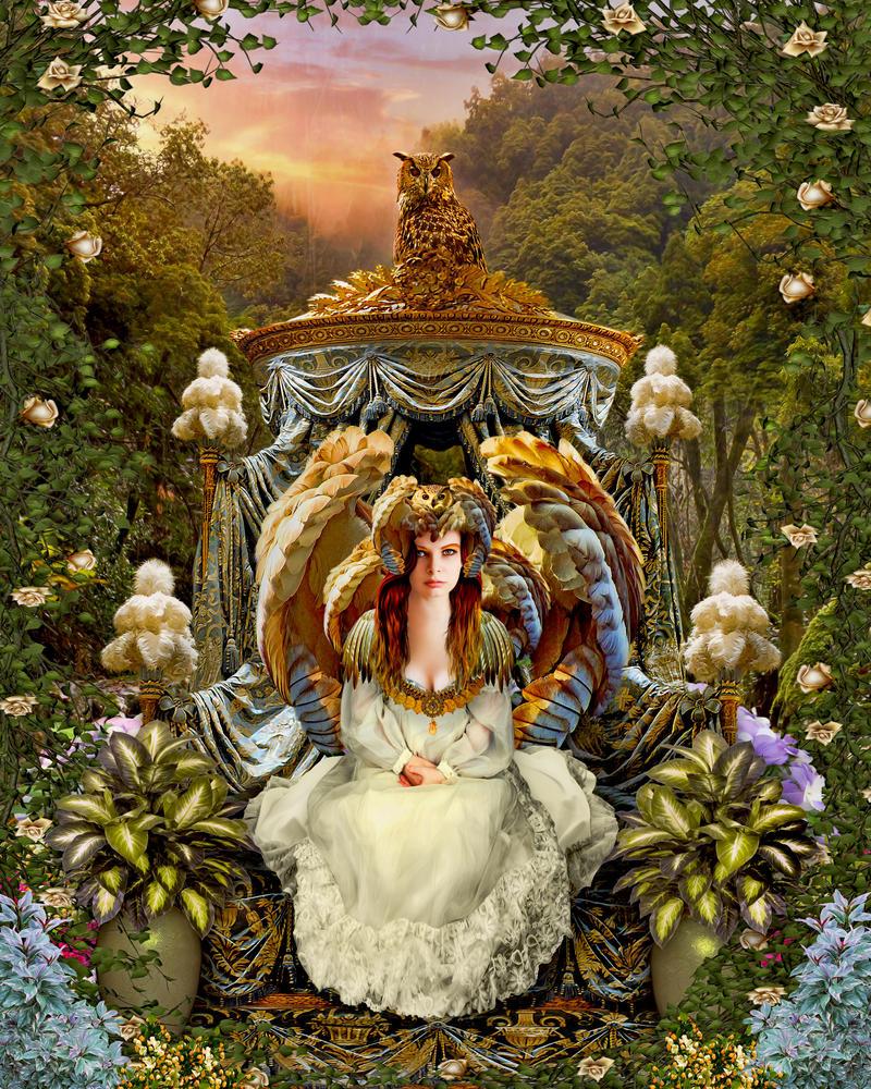 owl queen by enkrat