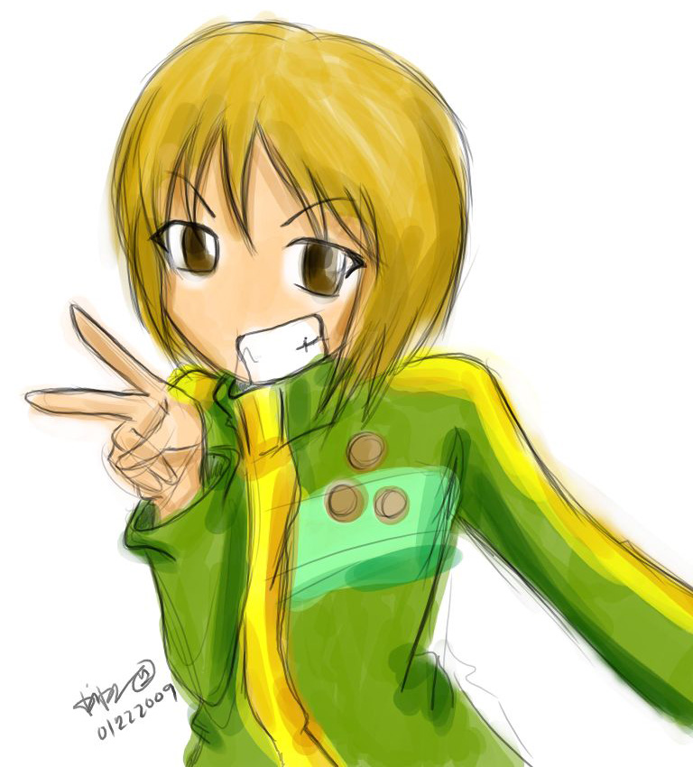 Persona 4: Chie Satonaka by eternalscat on DeviantArt