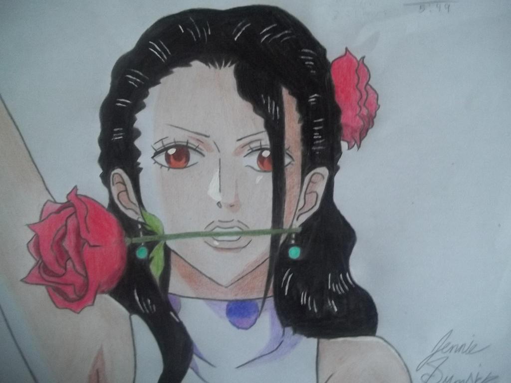 Violet from One Piece! by emokitten687