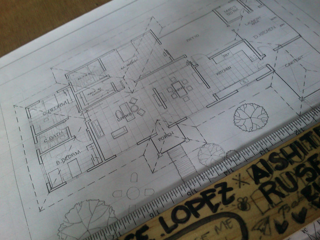 My first Preliminary Plan by Keira-Giordano