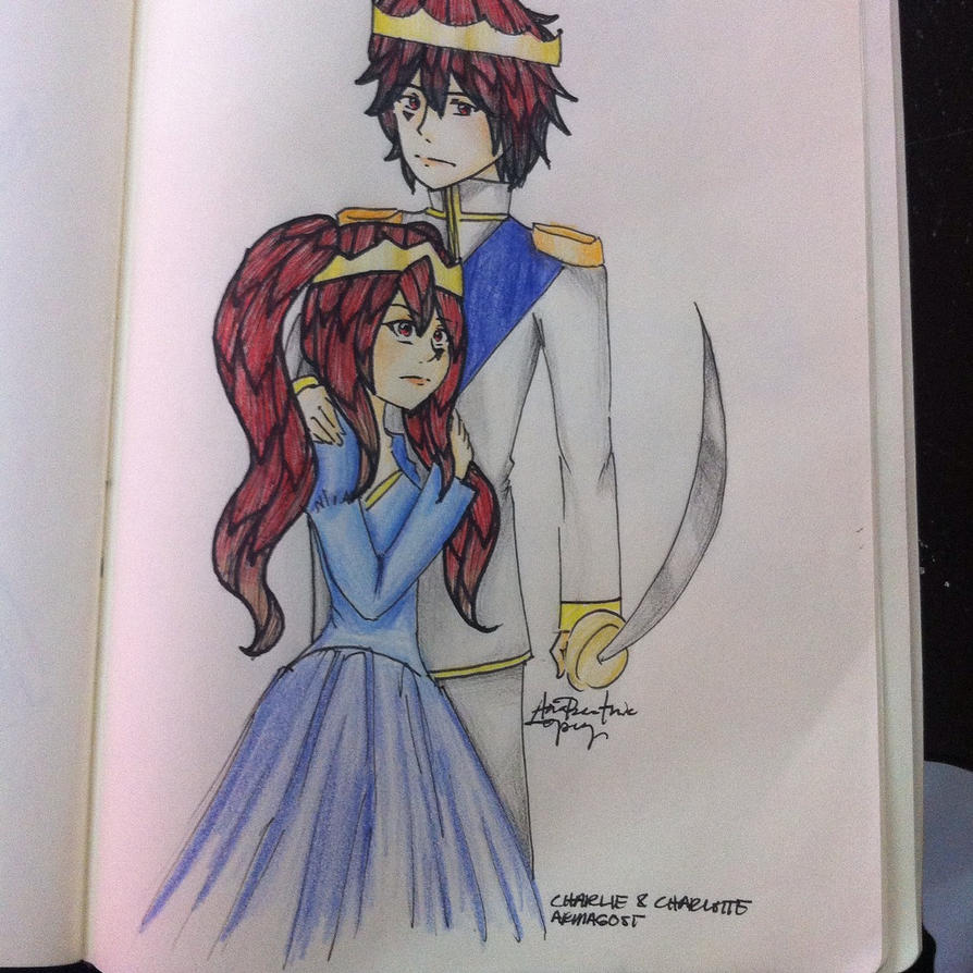 Charlie and Charlotte Armagost by Keira-Giordano
