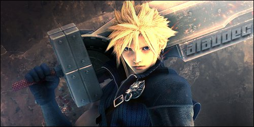 FFVII Cloud by amelbg