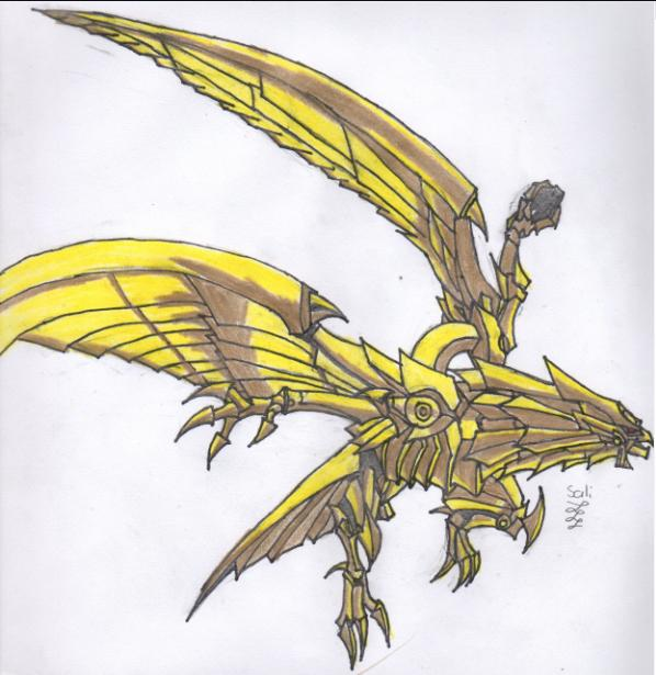 Yugioh The Winged Dragon Of Ra By Danysalinas On DeviantArt