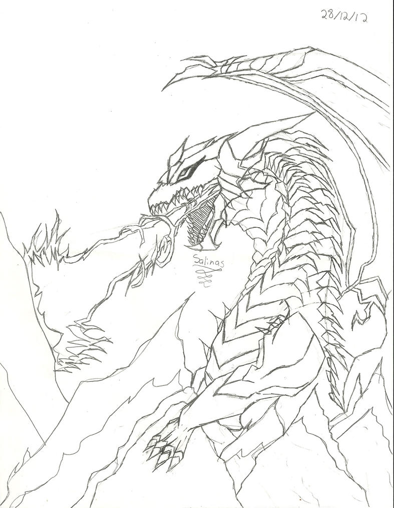 dragon breathing fire by danysalinas on deviantARTEasy Fire Breathing Dragon Drawings