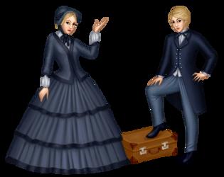 Harriet/William by etheriin-sin-dena