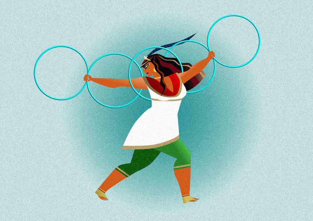 Chai Overwinning Hoop Dance by keithrchapman