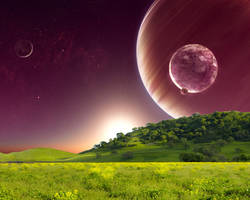Cosmic Field by nara6200