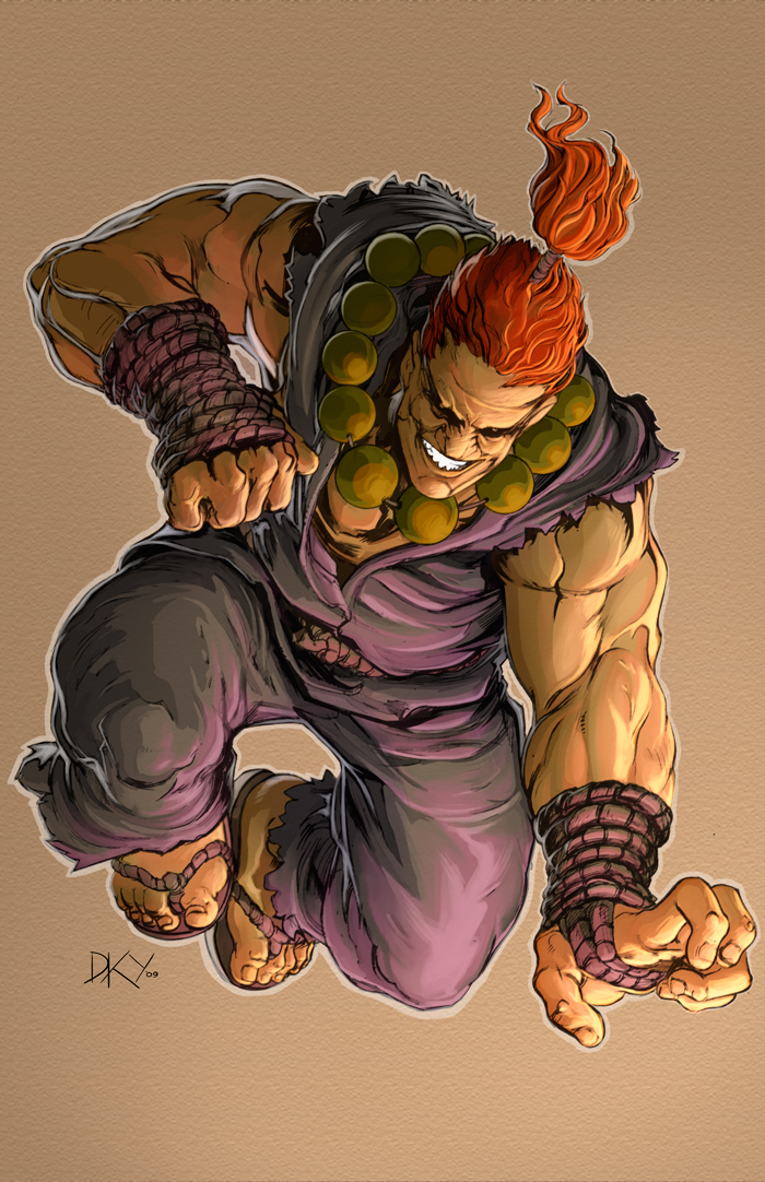 Akuma - Color by Blaw81