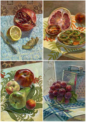 Study still lifes by JuliaTar