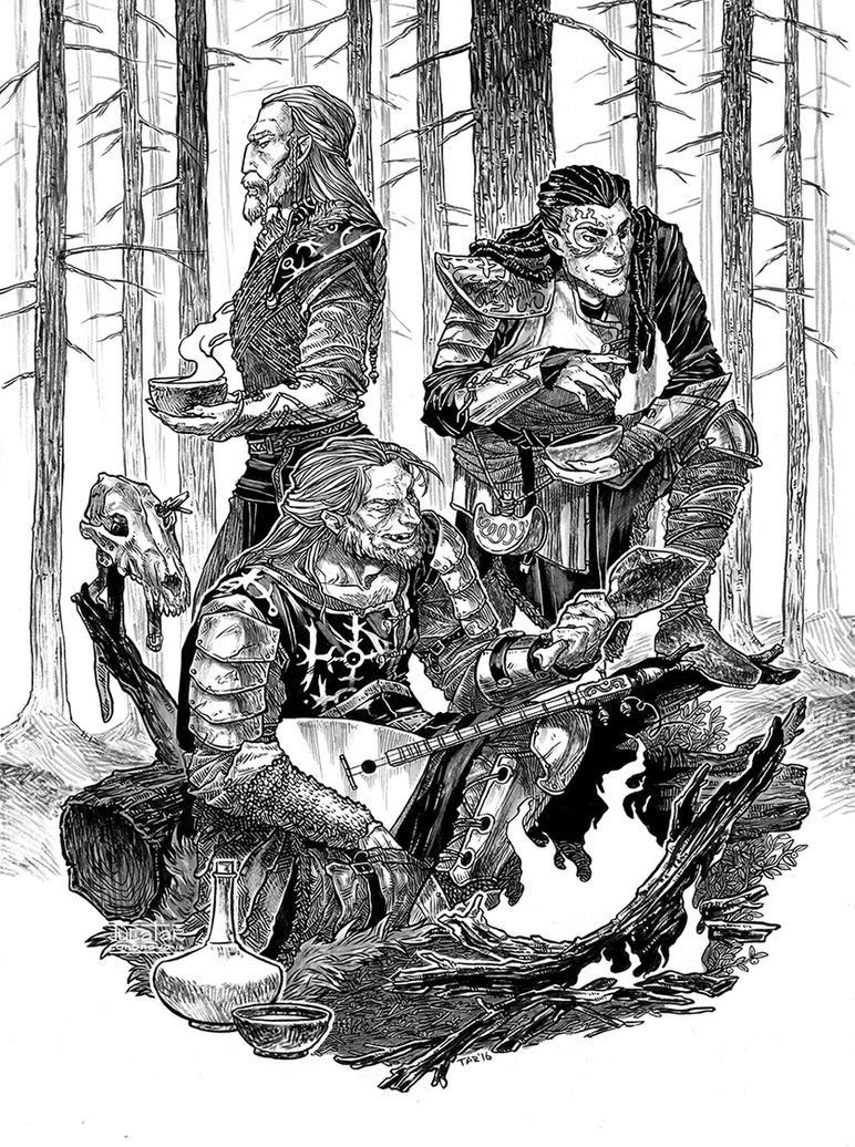 Tarronei's wolves by JuliaTar