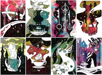 Max Frei's Labyrinths of Echo illustrations by JuliaTar