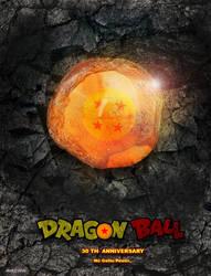 Dragon ball 30th anniversary by mjd360