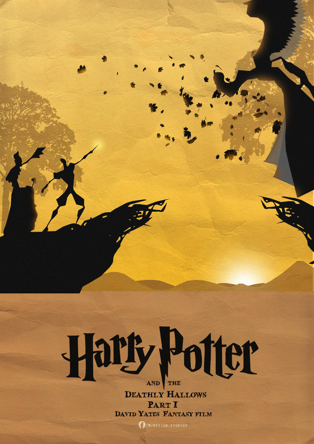 Harry Potter and the Deathly Hallows Part 1 Poste by mjd360 on ...