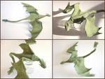 Plush Poseable Dragon