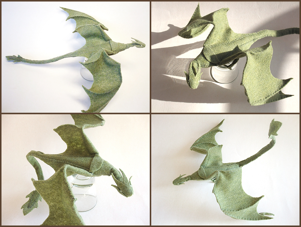 Old Fashioned Free Stuffed Dragon Sewing Pattern Photo - Easy Scarf ...