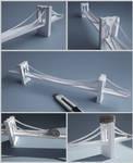 Brooklyn Bridge From a Single Piece of Paper