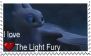 f2u I Love The Light Fury Stamp by astroprimes