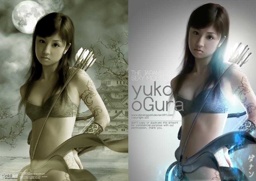 YUKO OGURA by dananggokil