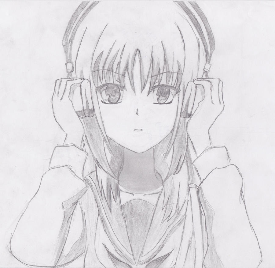 Angel Beats Iwasawa Drawing Images & Pictures - Becuo