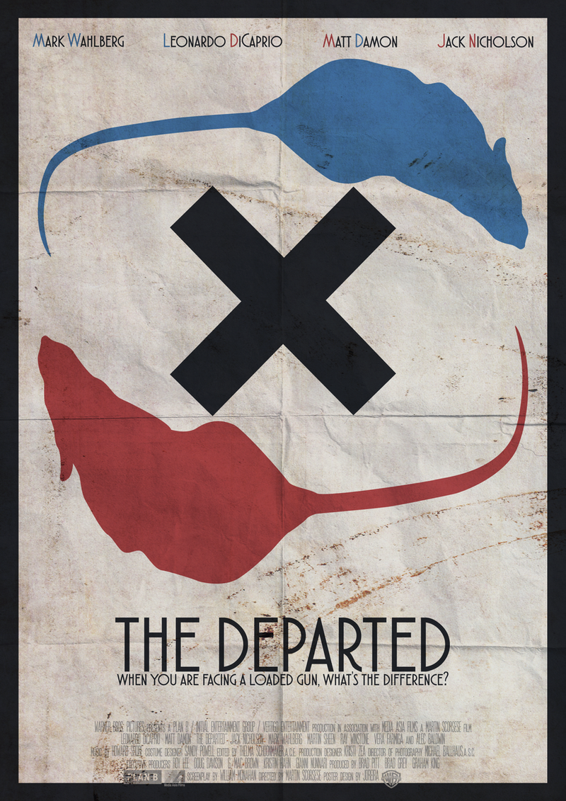 What's the difference? | The Departed by joreira