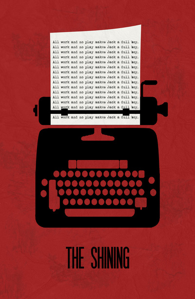 The Shining Minimalist Poster