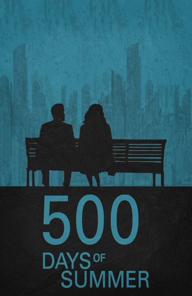 500 Days of Summer - Minimalist Poster by miserym on ...