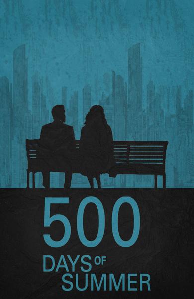 500 Days of Summer - Minimalist Poster by miserym on ...