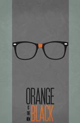 Orange is the new Black - Minimalist Poster 01