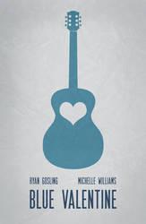 Blue Valentine Minimal Poster 01