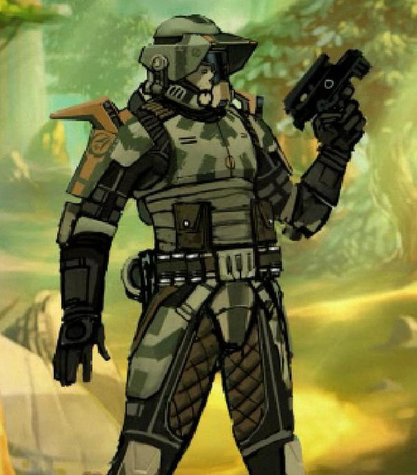 The Old Republic Commando by WeirdZ