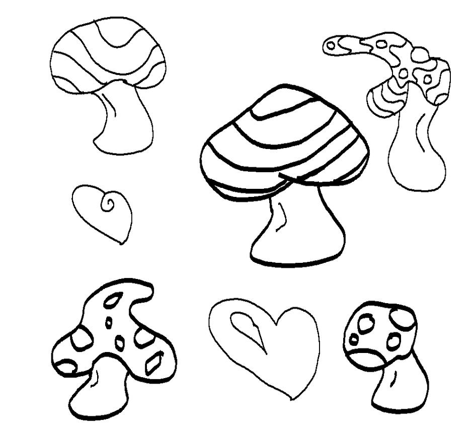 shroom boom coloring pages - photo#3