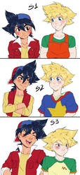 Beyblade: Takao is tall.. by Aduah