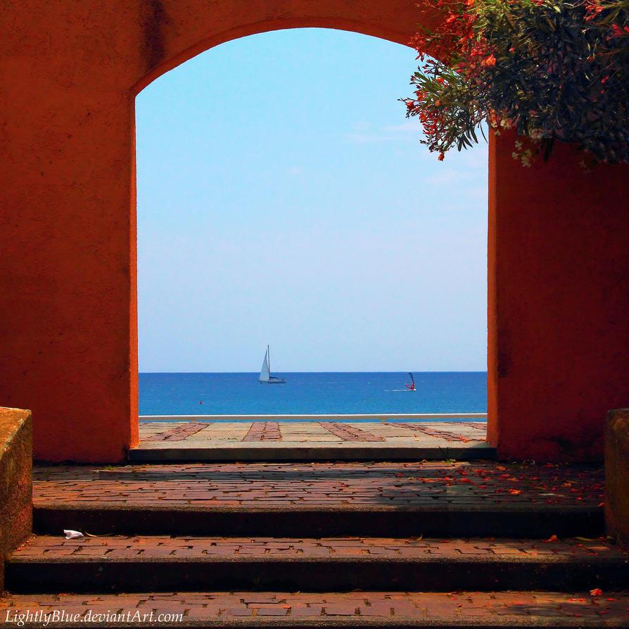 my colorful Sea by MarioDellagiovanna