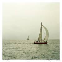Action Sailing by MarioDellagiovanna