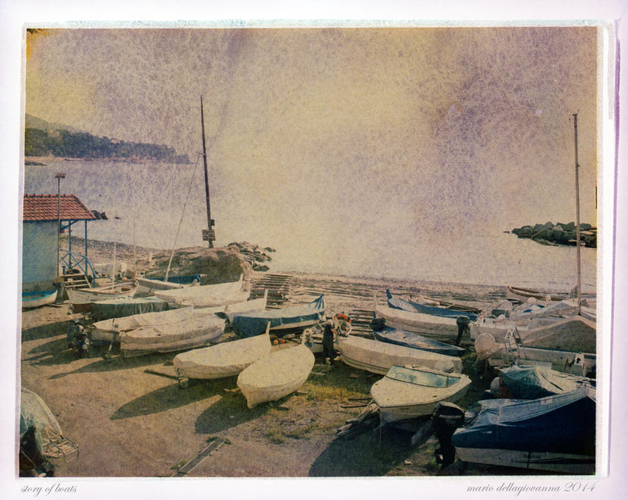 Story of Boats by MarioDellagiovanna
