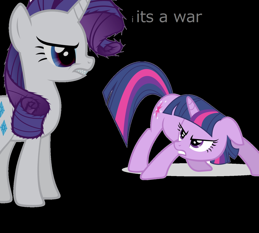 its a war by evilsiderarity on deviantart