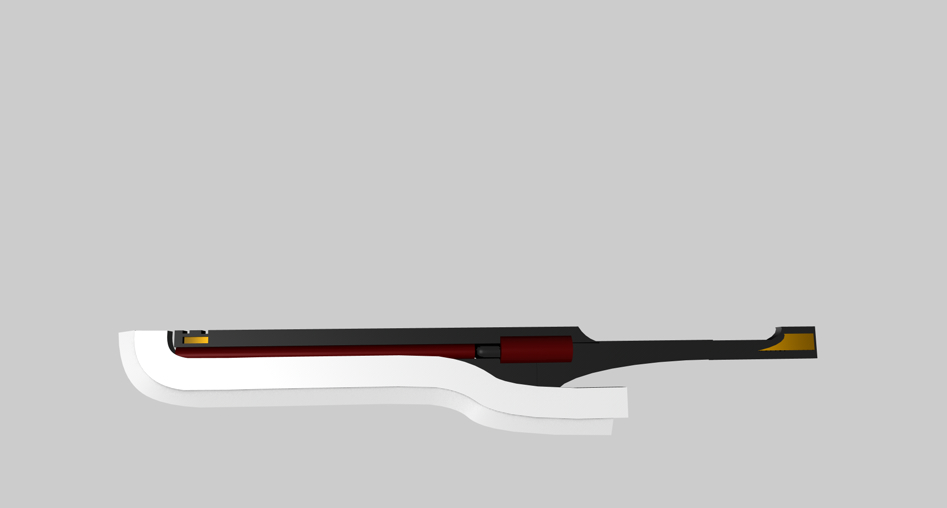 The Bloodedge (Side View) by DancingLunarWolves