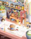 Anime Inspired Desk Decor