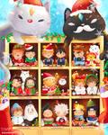 Anime Duos Fan Art - Merry Christmas!