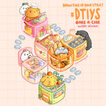 DTIYS - Bake A Cube - Cute Drawing