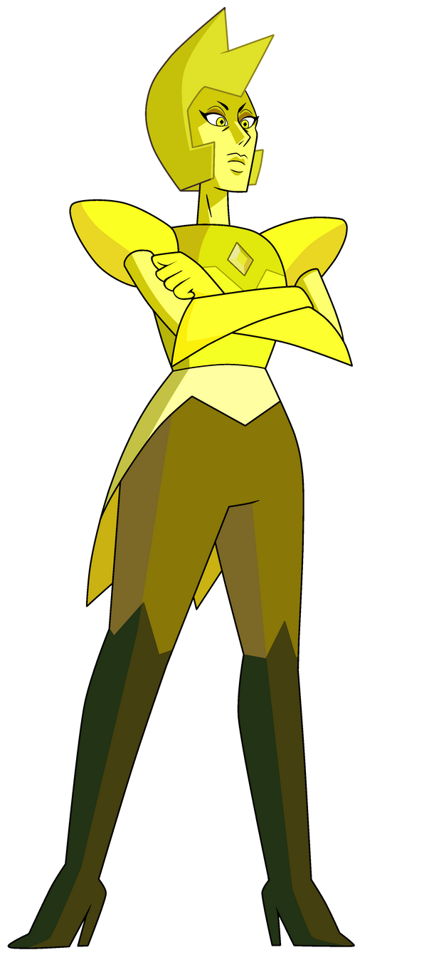 steven universe : yellow diamond by zixzate