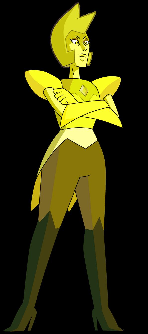 steven universe : yellow diamond by zixzate